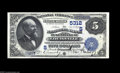 National Bank Notes:Kentucky, Louisville, KY - $5 1882 Date Back Fr. 537 The NB of Kentucky Ch. #(S)5312 Fresh and original, but with a few light fo...