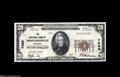 National Bank Notes:Kentucky, Middlesborough, KY - $20 1929 Ty. 1 The NB of Middlesborough Ch. #7086 A crackling-fresh note with one sheet fold in t...