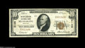 National Bank Notes:Kentucky, Mount Sterling, KY - $10 1929 Ty. 1 The Mt. Sterling NB Ch. # 2185QA nice Very Fine with plenty of residual paper ...