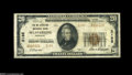 National Bank Notes:Kentucky, Mount Sterling, KY - $20 1929 Ty. 2 The Mt. Sterling NB Ch. # 2185A middle grade Very Fine from the smallest issue...