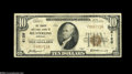 National Bank Notes:Kentucky, Mount Sterling, KY - $10 1929 Ty. 1 The Traders NB Ch. # 6129 Awell-margined Fine-Very Fine from the scarcest of t...