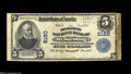 "National Bank Notes:Kentucky, Mount Sterling, KY - $5 1902 Plain Back Fr. 608 The Montgomery NBCh. # 6160 A Fine ""Fourth Charter"" note with the ..."