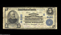 "National Bank Notes:Kentucky, Mount Sterling, KY - $5 1902 Plain Back Fr. 608 The Montgomery NBCh. #(S)6160 A so-called ""Fourth Charter"" note bearin..."