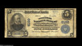 National Bank Notes:Kentucky, Mount Sterling, KY - $5 1902 Plain Back Fr. 608 The Montgomery NBCh. # 6160 A well-circulated example of the late prin...