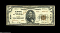 National Bank Notes:Kentucky, Mount Sterling, KY - $5 1929 Ty. 2 The Montgomery NB Ch. # 6160Very Fine, but with some scattered staining....
