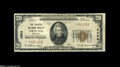 National Bank Notes:Kentucky, Owenton, KY - $20 1929 Ty. 1 The Farmers NB Ch. # 2968 A niceFine-Very Fine example from a bank which issued only ...