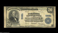 National Bank Notes:Kentucky, Somerset, KY - $20 1902 Plain Back Fr. 659 The Farmers NB Ch. #5881 A by no means common large note from this Somerset...