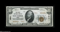 National Bank Notes:Maine, Bar Harbor, ME - $10 1929 Ty. 2 The First NB Ch. # 3941 A greatMaine item combining real bank rarity along with desira...