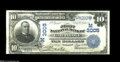 National Bank Notes:Missouri, Carthage, MO - $10 1902 Plain Back Fr. 624 The First NB Ch. #(M)3005 Officers Jacobs and Gray would relinquish their p...