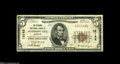 National Bank Notes:Missouri, Jefferson City, MO - $5 1929 Ty. 1 The Exchange NB Ch. # 13142State capital notes are always in demand. This example i...