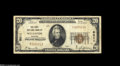 National Bank Notes:Missouri, Wellston, MO - $20 1929 Ty. 1 The First NB Ch. # 8011 An evenlycirculated and problem-free small example from this St....