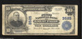 National Bank Notes:Montana, Great Falls, MT - $10 1902 Plain Back Fr. 626 The First NB Ch. # 3525 Of the four issuing banks located here only this ...