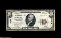 National Bank Notes:Pennsylvania, Coraopolis, PA - $10 1929 Ty. 1 The Coraopolis NB Ch. # 5069 Embossing is found on this bright note that is not among ...