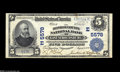 National Bank Notes:Pennsylvania, East Stroudsburg, PA - $5 1902 Plain Back Fr. 607 The Monroe County NB Ch. # (E)5578 This is a new note for the census ...
