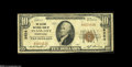 National Bank Notes:Pennsylvania, Evans City, PA - $10 1929 Ty. 1 The Citizens NB Ch. # 8854 A veryscarce example from the sole bank to issue in this ti...