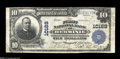 National Bank Notes:Pennsylvania, Herminie, PA - $10 1902 Plain Back Fr. 628 The First NB Ch. # 10188A great new discovery from the only bank to issue i...