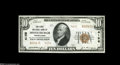 National Bank Notes:Pennsylvania, Middleburgh, PA - $10 1929 Ty. 2 The First NB Ch. # 4156 Bright andfresh, just a few light handling marks from the ful...