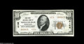 National Bank Notes:Pennsylvania, Middleburgh, PA - $10 1929 Ty. 2 The First NB Ch. # 4156 Consecutive to the last and just as nice. Choice Crisp Uncir...