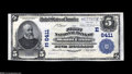 National Bank Notes:Pennsylvania, Mount Union, PA - $5 1902 Plain Back Fr. 598 The First NB Ch. # 6411 A bright and fully margined Choice-Gem Crisp Un...