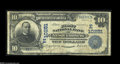 National Bank Notes:Pennsylvania, Nesquehoning, PA - $10 1902 Date Back Fr. 620 The First NB Ch. # (E)10251 A scarce bank in large size, with just seven ...