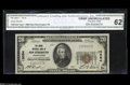 National Bank Notes:Pennsylvania, New Kensington, PA - $20 1929 Ty. 1 The Union NB Ch. # 13084 CGA Crisp Uncirculated 62.A scarce issuer, with only t...