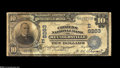 National Bank Notes:Pennsylvania, Reynoldsville, PA - $10 1902 Date Back Fr. 617 The Citizens NB Ch.#(E)8263 A Very Good Date Back from the last of...