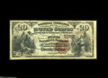 National Bank Notes:Pennsylvania, Stoystown, PA - $20 1882 Brown Back Fr. 504 The First NB Ch. # (E)5682 A just plain scarce Somerset County note, with j...