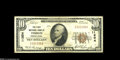 National Bank Notes:Pennsylvania, Timblin, PA - $10 1929 Ty. 1 The First NB Ch. # 11204 Very Fine.This was the lone bank in the town of Timblin....