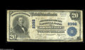 National Bank Notes:Pennsylvania, Jefferson County and Clearfield County Pennsylvania Third CharterNationals Brookville, PA - $20 1902 Plain Back Fr. 658 Th... (2notes)