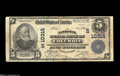 National Bank Notes:South Carolina, Columbia, SC - $5 1902 Plain Back Fr. 603 The National State Bank Ch. # (S)10315 This is a new note for the Kelly cens...
