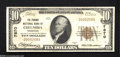 National Bank Notes:Tennessee, Columbia, TN - $10 1929 Ty. 1 The Phoenix NB Ch. # 7870 This VeryFine example is a new addition to the census. It...