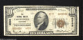 National Bank Notes:Tennessee, Fayetteville, TN - $10 1929 Ty. 2 Elk NB Ch. # 8555 Although 14 ofthe 1929 series have now been documented as survivi...
