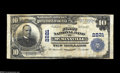 National Bank Notes:Tennessee, McMinnville, TN - $10 1902 Plain Back Fr. 631 The First NB Ch. #2221 A Fine-Very Fine example bearing the second ...