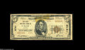 National Bank Notes:Virginia, Galax, VA - $5 1929 Ty. 2 The First NB Ch. # 8791 This note is oneof only seven listed. An old tape repair has given w...