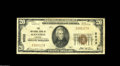National Bank Notes:Virginia, Manassas, VA - $20 1929 Ty. 1 The NB of Manassas Ch. # 5032 A veryscarce bank located in now-booming Fairfax County. T...