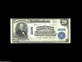 National Bank Notes:Virginia, Norfolk, VA - $20 1902 Plain Back Fr. 654 The Seaboard Citizens NBCh. # 10194 A bright Crisp Uncirculated Third C...