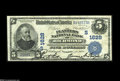 National Bank Notes:Virginia, Richmond, VA - $5 1902 Date Back Fr. 591 The Planters NB Ch.#(S)1628 A bright and original Very Fine+ with darkly...