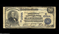 National Bank Notes:Virginia, Richmond, VA - $20 1902 Plain Back Fr. 655 The Broadway NB Ch.#(S)10344 A well-circulated Very Good from the last...