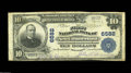 National Bank Notes:West Virginia, New Cumberland, WV - $10 1902 Plain Back Fr. 624 The First NB Ch. # 6582 An exceptionally rare note from the only bank ...
