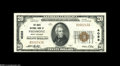 National Bank Notes:West Virginia, Piedmont, WV - $20 1929 Ty. 1 The Davis NB Ch. # 4088 This family-owned bank was the last of three issuers to be chart...