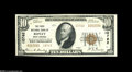 National Bank Notes:West Virginia, Ripley, WV - $10 1929 Ty. 2 The First NB Ch. # 10762 Thisinstitution was the sole issuer from here and emitted Plain ...