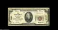 National Bank Notes:Wisconsin, Waupun, WI - $20 1929 Ty. 1 The NB of Waupun Ch. # 7898 A nice Series 1929 example from a bank which is considerably ha...