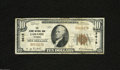National Bank Notes:Wyoming, Laramie City, WY - $10 1929 Ty. 1 The Albany County NB Ch. # 3615This Fine-Very Fine note comes from one of the t...