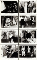 """Movie Posters:Horror, Night of the Living Dead (Monarch, 1968). Front of House British Lobby Card Set of 8 (8"""" X 10"""").. ... (Total: 8 Items)"""