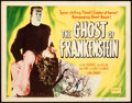 """Movie Posters:Horror, The Ghost of Frankenstein (Realart, R-1948). Title Lobby Card (11"""" X 14"""").. ..."""