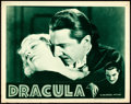 "Movie Posters:Horror, Dracula (Universal, R-1938). Lobby Card (11"" X 14""..."