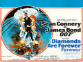 "Movie Posters:James Bond, Diamonds are Forever (United Artists, 1971). British Quad (30"" X 40""). Robert McGinnis Artwork.. ..."