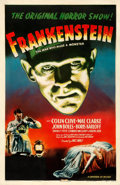 "Movie Posters:Horror, Frankenstein (Universal, R-1947). One Sheet (27"" X 41"").. ..."