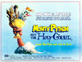 """Movie Posters:Comedy, Monty Python and the Holy Grail (EMI, 1975). British Quad (30"""" X 40"""") Terry Gilliam Artwork.. ..."""