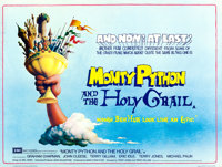"Monty Python and the Holy Grail (EMI, 1975). British Quad (30"" X 40"") Terry Gilliam Artwork"